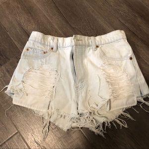 Furst of a kind denim shorts